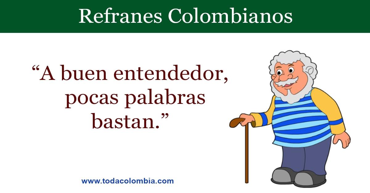Refranes Colombianos Refranes De Colombia Listado De